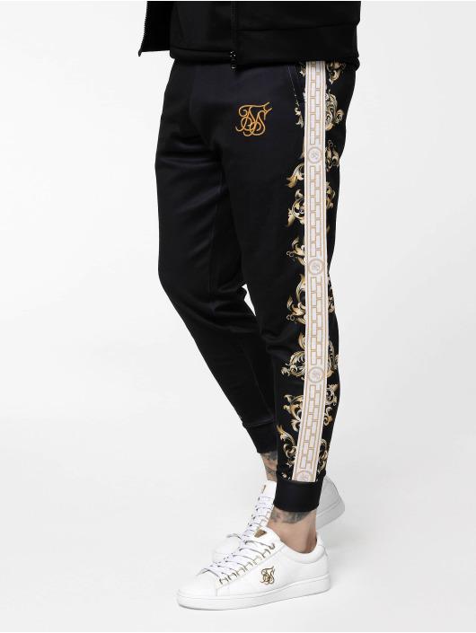 Sik Silk Joggebukser Black Edition Poly Cuffed svart