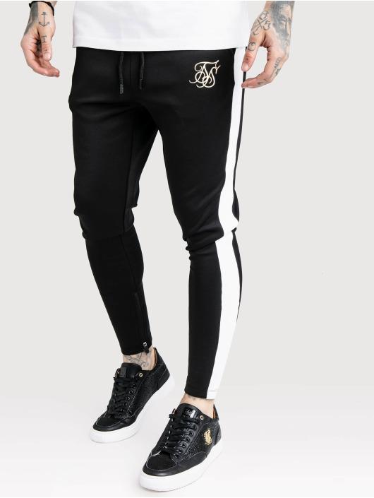 Sik Silk Jogging kalhoty Vapour Sport čern