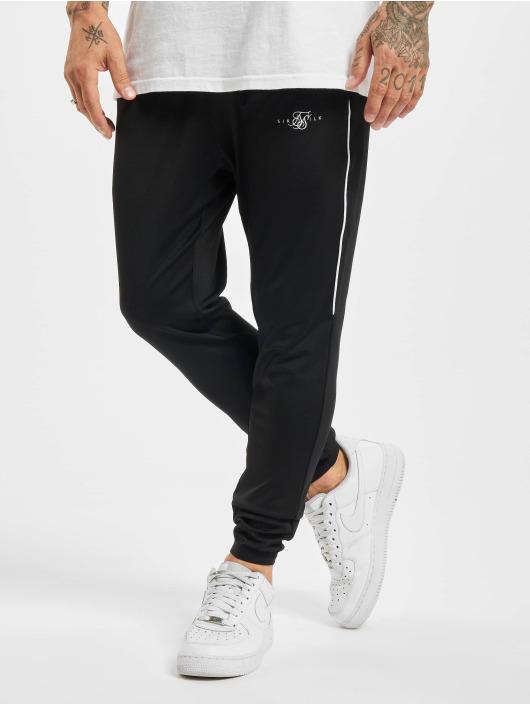Sik Silk Jogging kalhoty Scope Signature čern