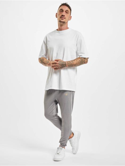 Sik Silk Jogging kalhoty Scope Signature šedá