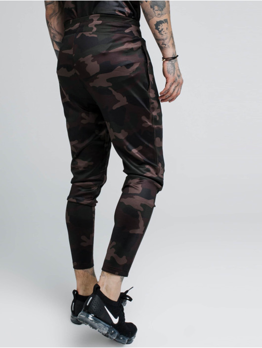 Sik Silk joggingbroek Athlete camouflage