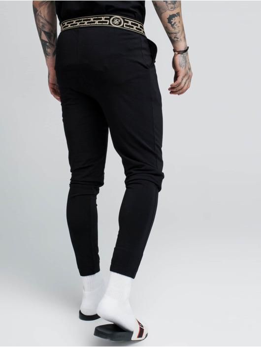 Sik Silk joggingbroek Cartel Lounge zwart