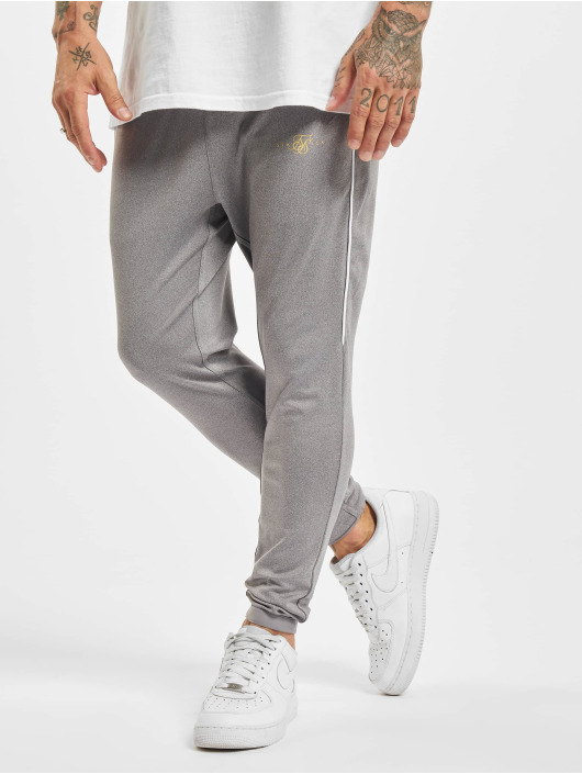 Sik Silk Joggingbukser Scope Signature grå