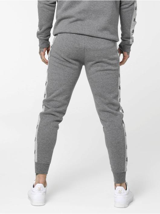 Sik Silk Joggingbyxor Muscle grå