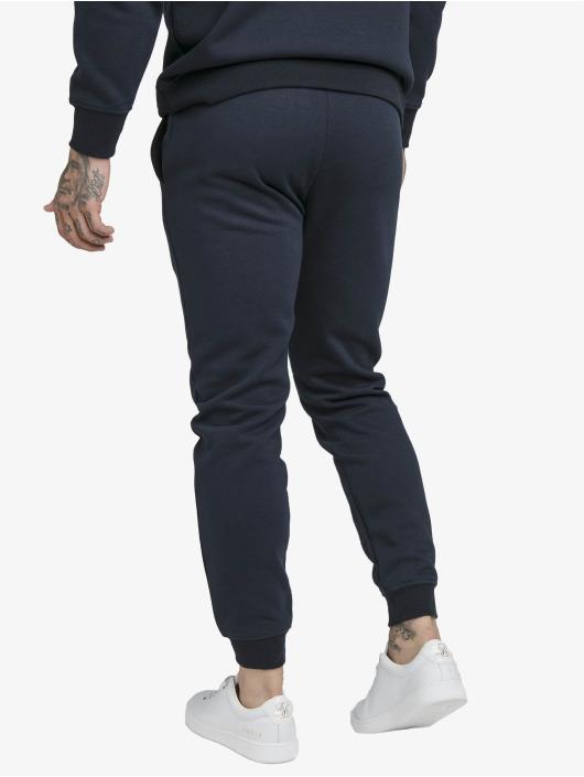 Sik Silk Jogginghose Muscle Fit blau
