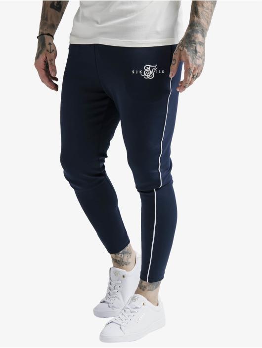 Sik Silk Jogginghose Agility Deluxe blau