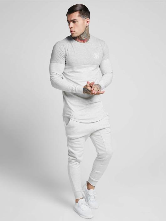 Sik Silk Jogginghose Skinny grau