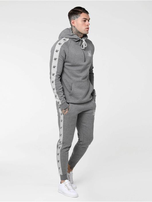 Sik Silk Jogginghose Muscle grau