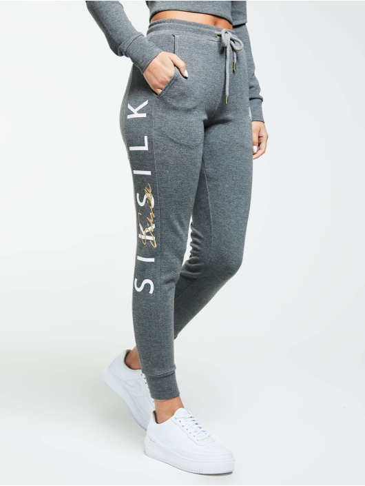 Sik Silk Jogginghose Colour Signature grau