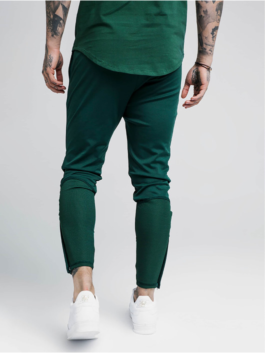 Sik Silk Jogginghose Zonal grün