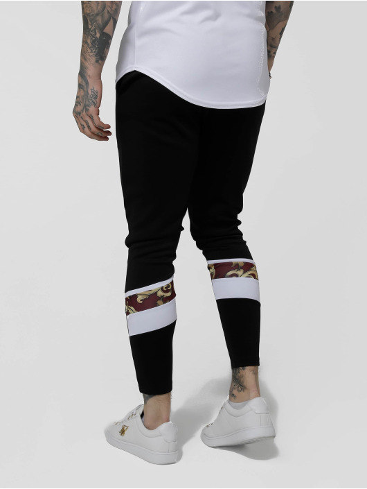 Sik Silk Jogginghose Royal Venetian Sprint schwarz