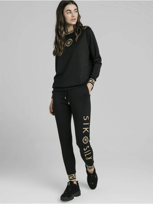 Sik Silk Jumper Luxury Poly black