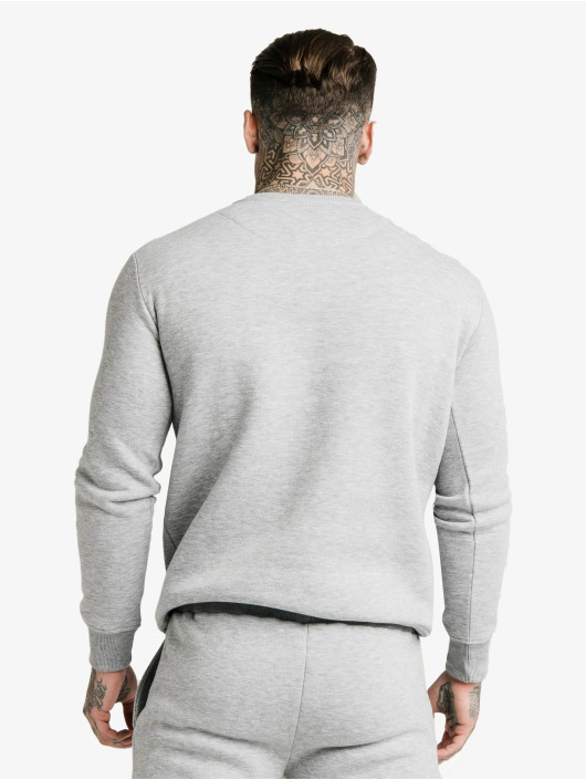 Sik Silk Jumper Crew grey