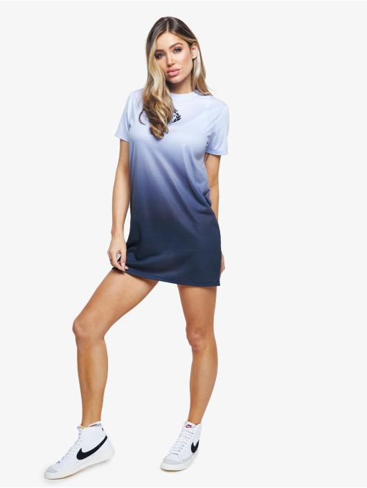 Sik Silk Kleid Gravity Fade blau