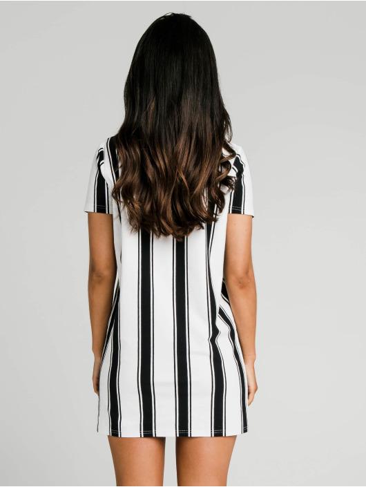 Sik Silk Kleid Athena Stripe schwarz