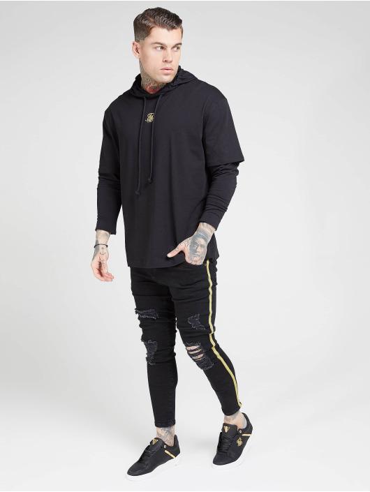 Sik Silk Longsleeve Essential Undergarment Cuff schwarz