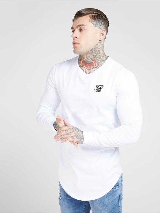 Sik Silk Longsleeve Core Gym white