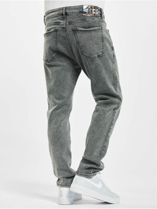 Sik Silk Loose Fit Jeans Steve Aoki czarny