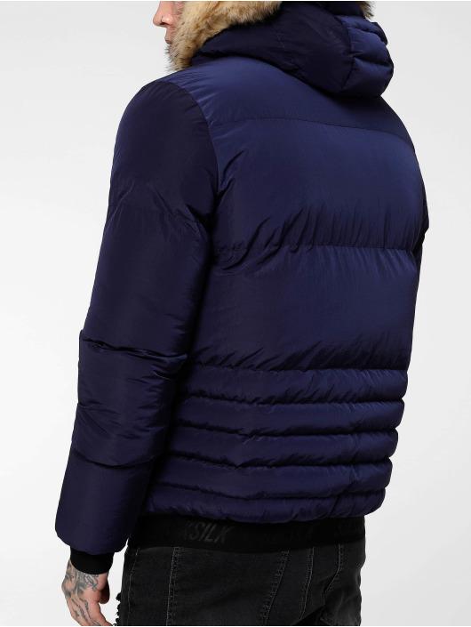 Sik Silk Manteau hiver Distance bleu