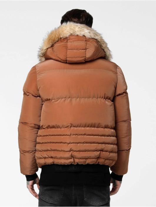 Sik Silk Manteau hiver Distance brun