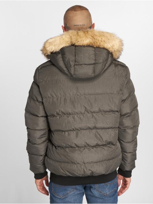 Sik Silk Manteau hiver Parachute gris