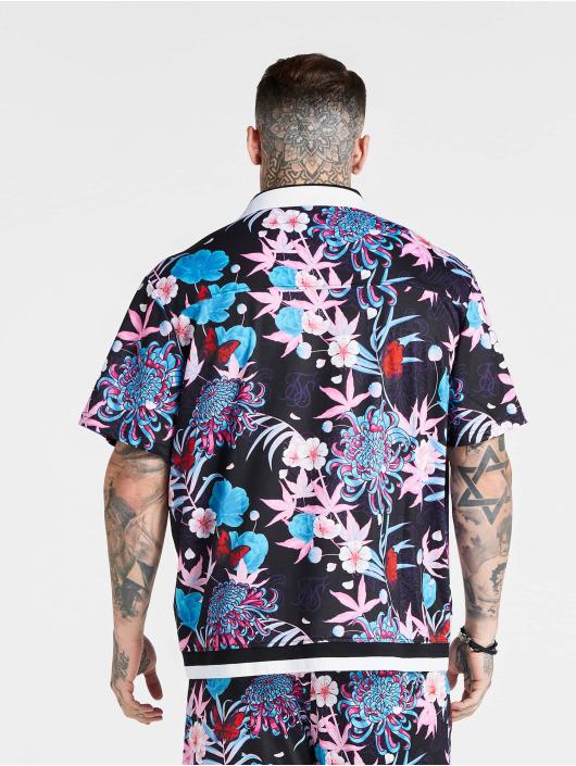 Sik Silk overhemd Loose Fit blauw