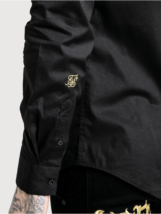 Sik Silk overhemd Muscle Fit zwart