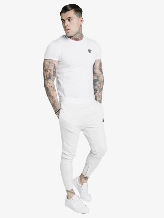 Sik Silk Pantalón deportivo Agility Textured Tape blanco