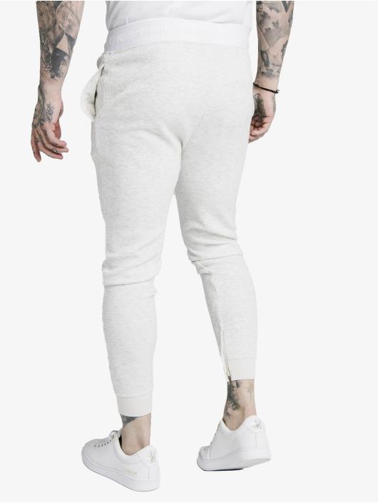 Sik Silk Pantalone ginnico Agility Textured Tape bianco