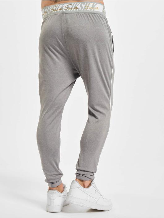 Sik Silk Pantalone ginnico Scope Signature grigio