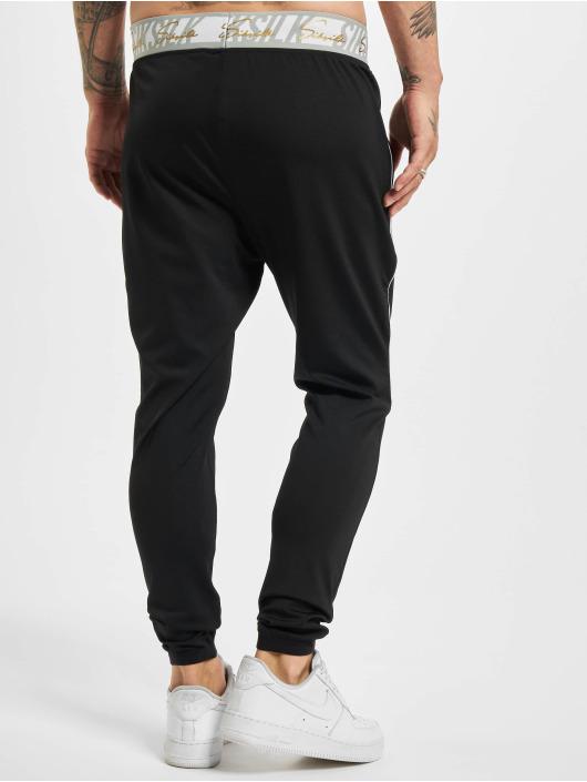 Sik Silk Pantalone ginnico Scope Signature nero