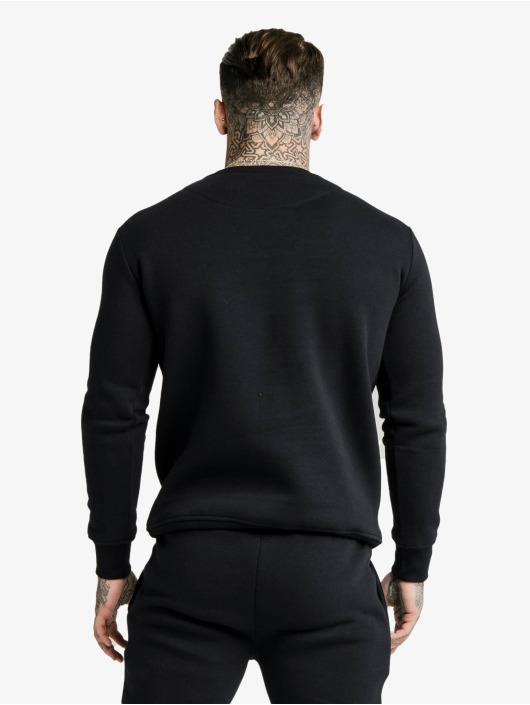 Sik Silk Pullover Crew black
