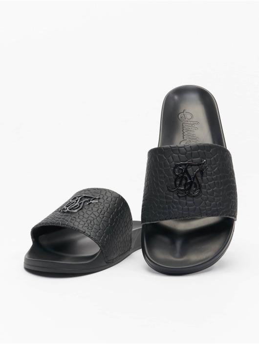 Sik Silk Sandalen Croc schwarz