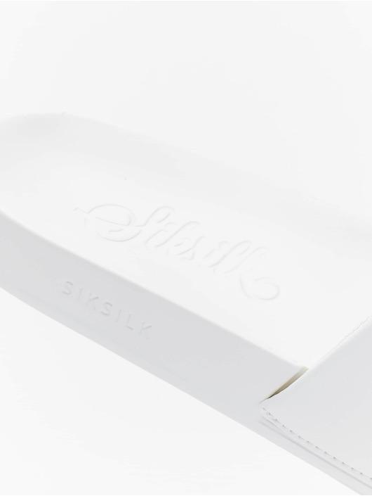 Sik Silk Sandalen Roma Tape weiß