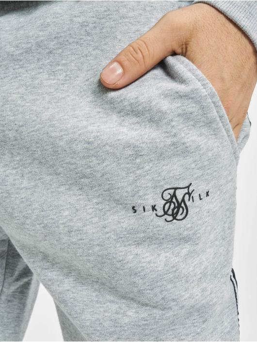 Sik Silk Sety Fleece Overhead šedá