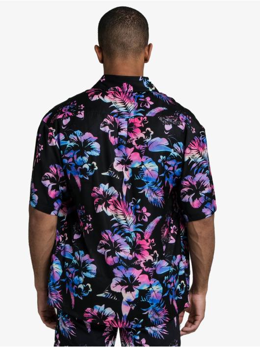 Sik Silk Shirt Hawaii Resort Shirt black