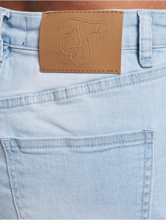 Sik Silk Short Distressed Skinny blue