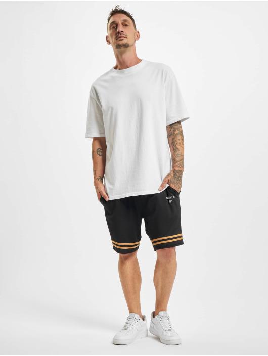 Sik Silk Shorts Relaxed Mesh Bound goldfarben
