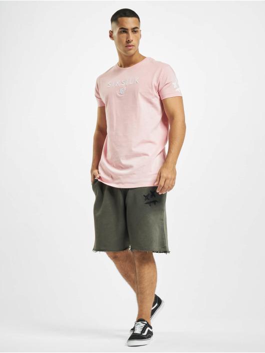 Sik Silk Shorts X Steve Aoki Relaxed grau