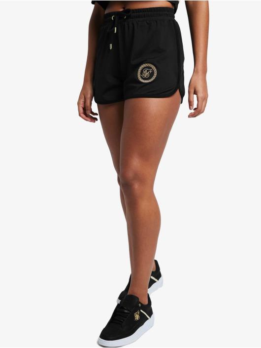 Sik Silk Shorts Mesh Runner schwarz