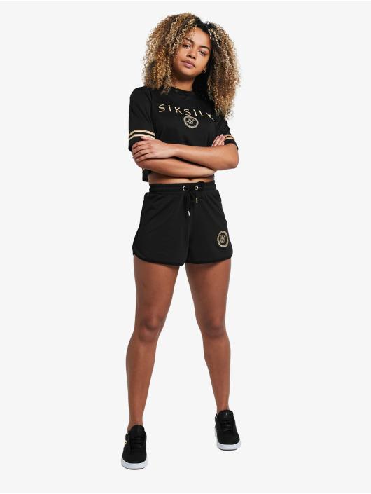 Sik Silk shorts Mesh Runner zwart