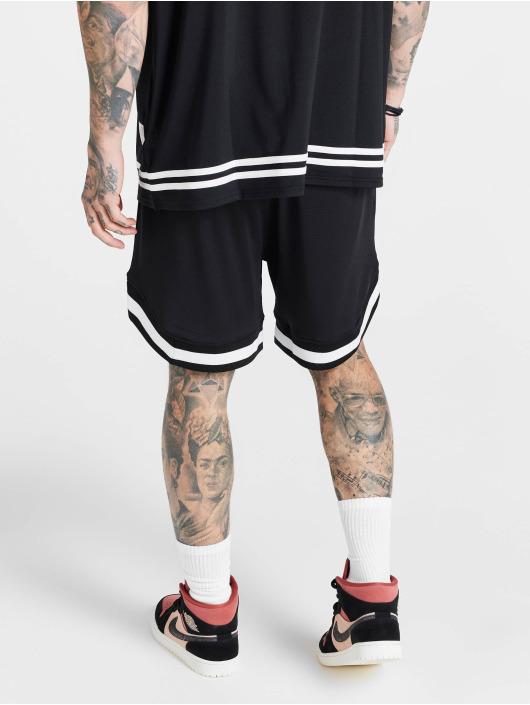 Sik Silk shorts Mesh Baseball zwart