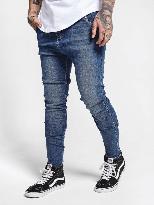 Sik Silk Skinny Jeans Skinny niebieski