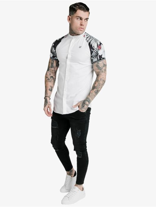 Sik Silk Skjorter Floral Raglan Tech hvit