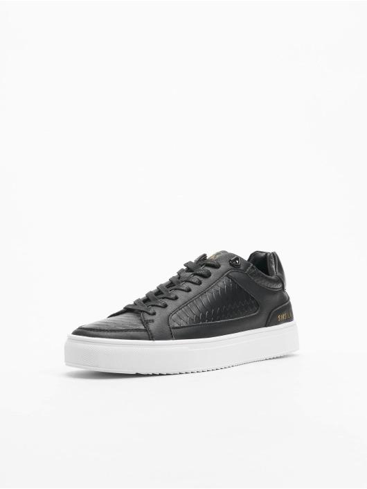 Sik Silk Sneaker Ghost Anaconda schwarz