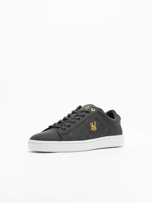 Sik Silk Sneaker Elite Monogram Reflective schwarz