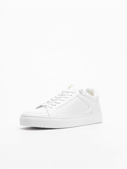 Sik Silk Sneakers Ghost Anaconda bialy