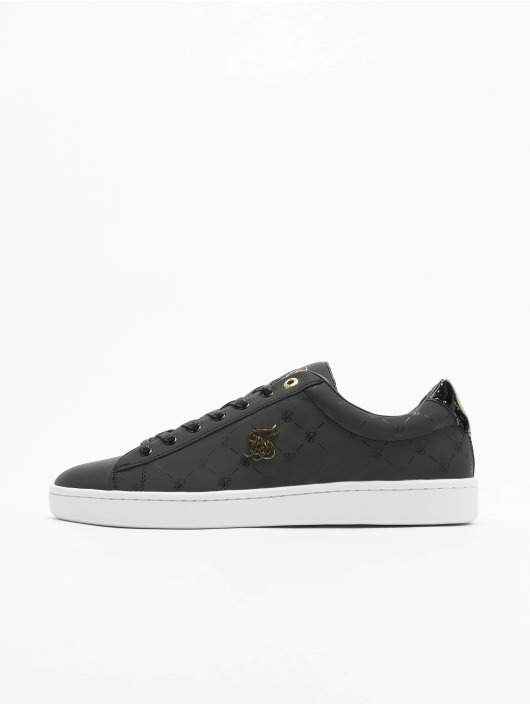 Sik Silk Sneakers Elite Monogram Reflective black