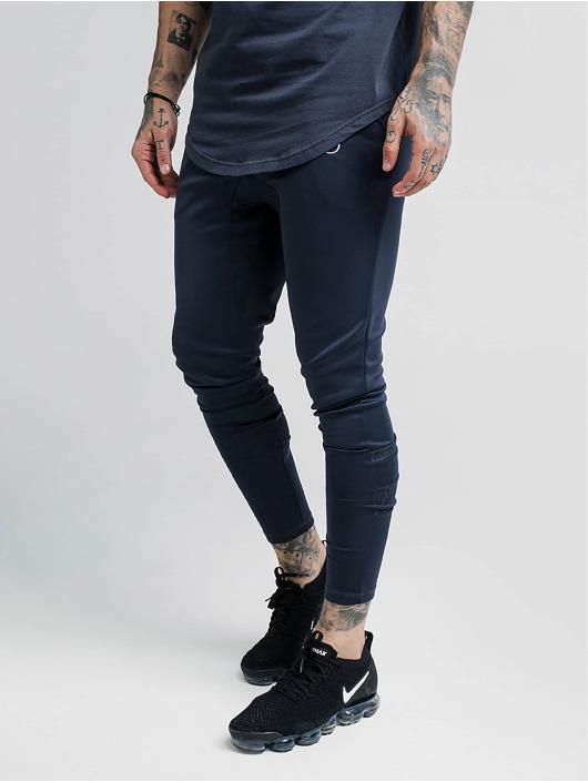 Sik Silk Spodnie do joggingu Reflective Sprint czarny