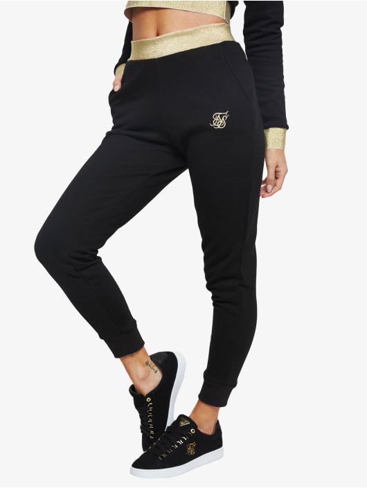Sik Silk Spodnie do joggingu Taped czarny